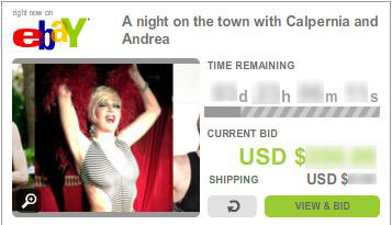 4 Day Fundraiser: A Night on the Town with Calpernia & Andrea