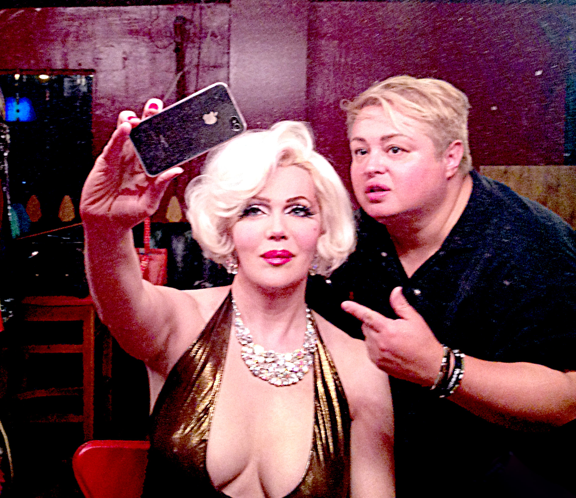 """Calpernia as Marilyn"" by the Legendary Jimmy James"
