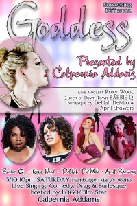 Bachelorettes & Birthday People! Something Different! Drag Queens, Live Singing & Burlesque GODDESS Show!