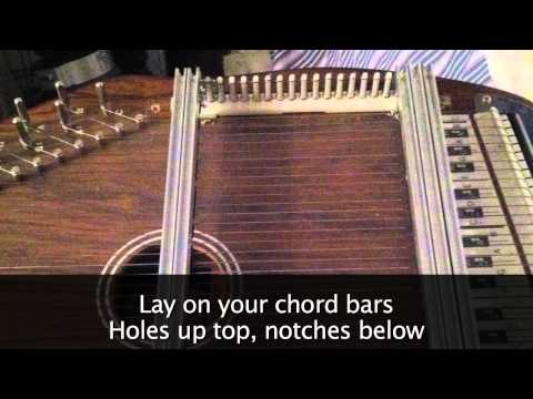 How to Convert a 15 Chord Autoharp to 21 Chord (Video Tutorial)