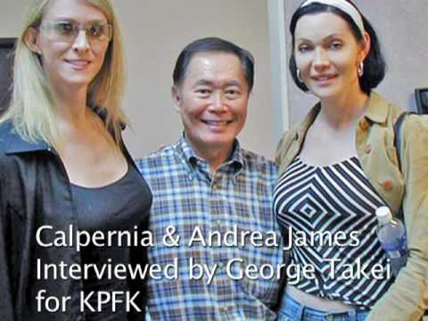 Audio: George Takei Interviews Calpernia and Andrea James for KPFK